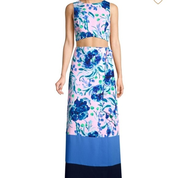 NWT 2 piece Lilly Pulitzer maxi dress